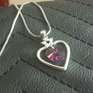 Jewelry - Purple Heart Necklace